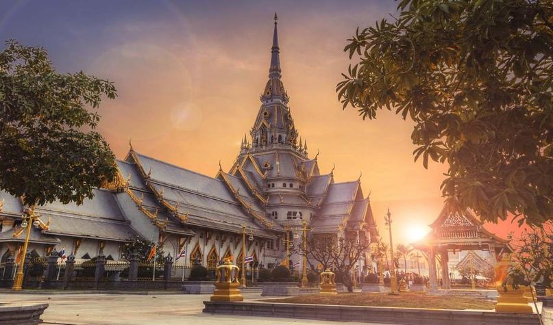Храм Бангкока. Таиланд