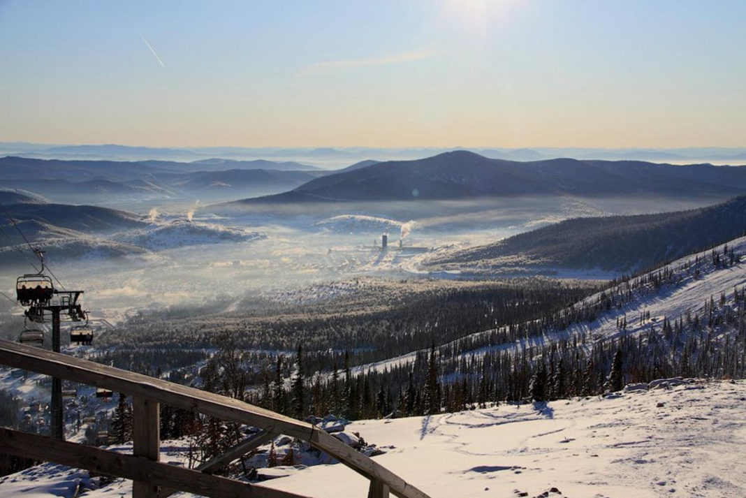 Турист разбился на горнолыжном курорте Шерегеш