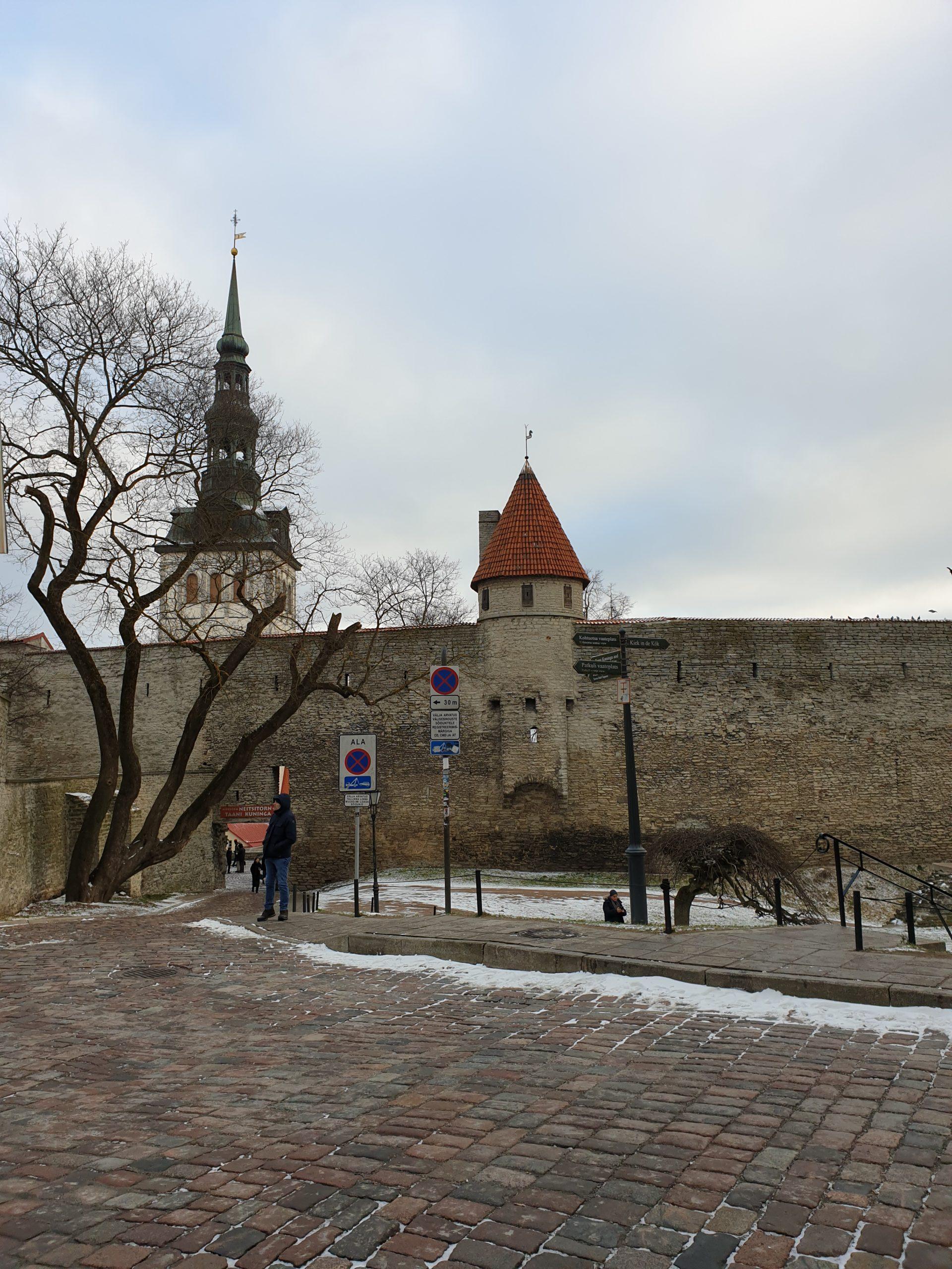 Поездка в предновогодний Таллинн