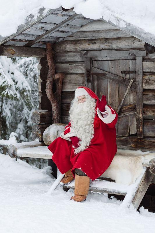 Привет от Санта-Клауса из Лапландии