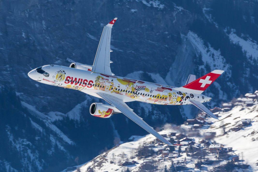 Swiss возобновляет полеты из Санкт-Петербурга в Цюрих
