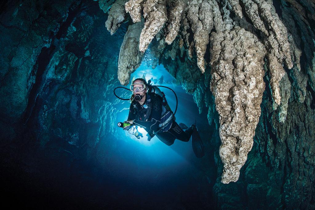 кэйв дайвинг разновидность пещерного дайвинга