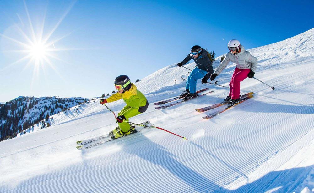 катание на горных лыжах Неопасно для ковид