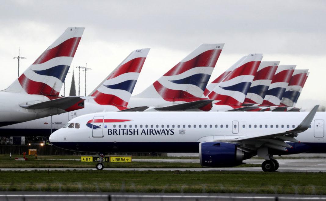 авиасообщение с Великобританией остановят с 22 декабря