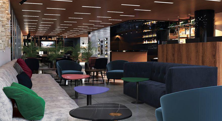 MAXIMA Domodedovo Hotel  в Москве откроется в 2021г - Лобби