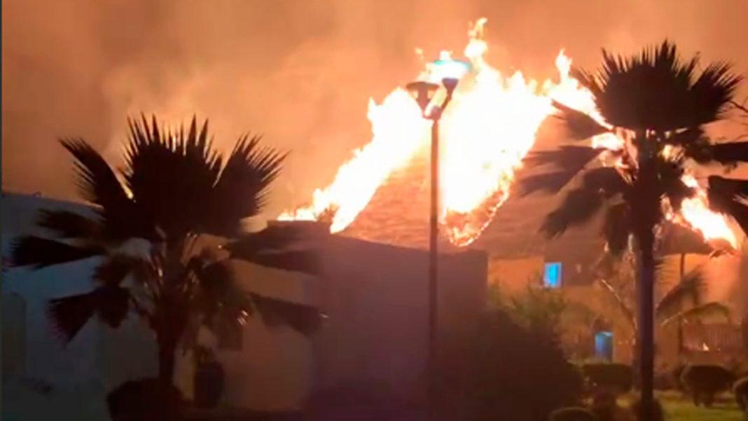 Пожар в отеле Blue Bahari 5* Занзибар