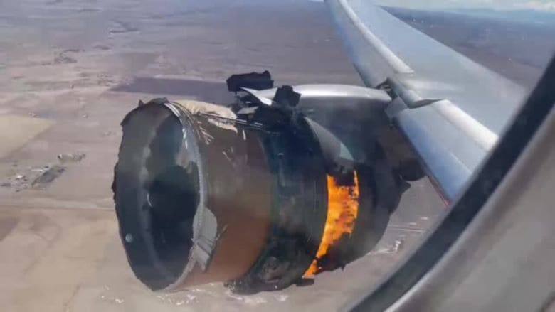 загоревшийся двигатель самолета мог стать причиной катастрофы