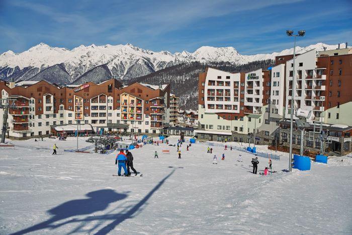 Отели горнолыжных курортов Сочи
