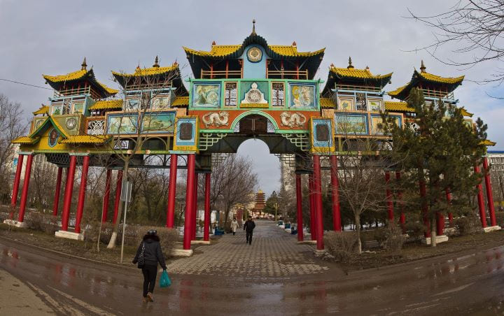 Золотые ворота Элтн Босх. Калмыкия Эдиста