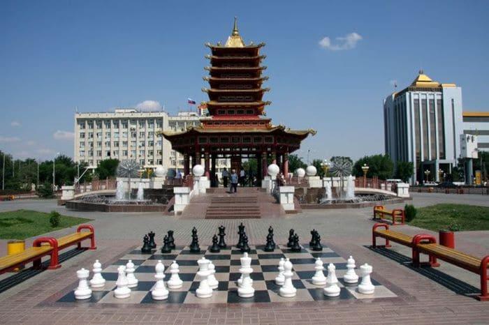 Буддизм в Калмыкии. Элиста