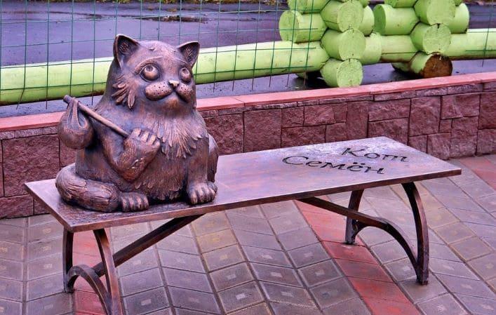 Кот Семен в Мурманске. Топ 7 мест в России для исполнения желаний