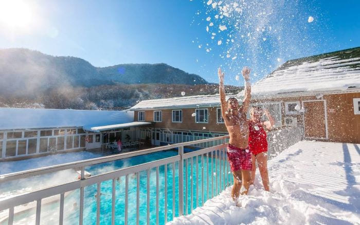 Курорты Краснодарского края зимой
