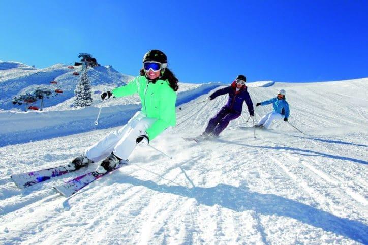 горнолыжный сезон в Сочи